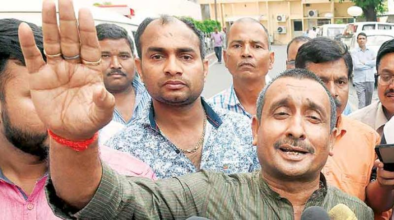 The woman was allegedly raped by expelled BJP MLA Kuldeep Singh Sengar and the three men in two different incidents in 2017 when she was a minor. (Photo: File)