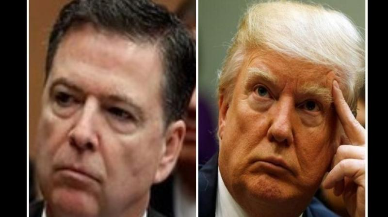 Comey claimed that Trump was left vulnerable to blackmail and exploitation by the Russian government because of his association with Russian prostitutes (Photo: ANI)
