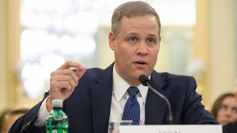 Bridenstine, 42, has expressed an interest in returning humans back to the moon, spoken of closer ties between NASA and the commercial space industry. (Photo: NASA | Twitter)