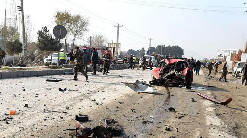 Islamic State claimed responsibility for the twin suicide attacks. (Photo: AFP)