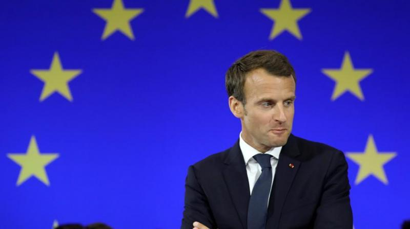 French President Emmanuel Macron said on Friday British Prime Minister Boris Johnson, who clinched a Brexit deal with the European Union on Thursday, had been underestimated. (Photo: File)
