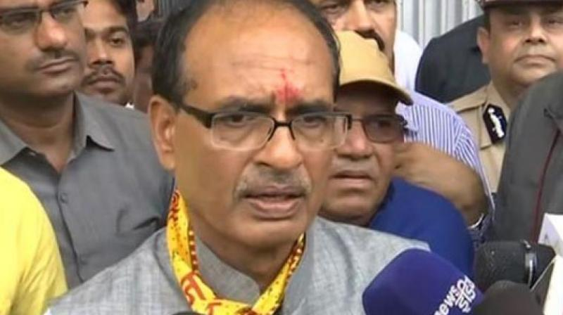 Madhya Pradesh Chief Minister Shivraj SIngh Chouhan is busy touring state ahead of assembly polls later this year. (Photo: ANI)