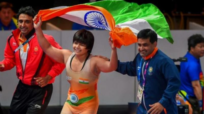 During an interaction with Delhi CM Minister Arvind Kejriwal, wrestler Divya Kakran said the city government offered her help only after she won the medal, but no assistance came her way 'at the time of need'. (Photo: PTI)