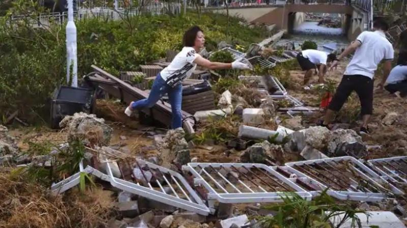 Nearly 70,000 people had already fled their homes in the Bicol region, disaster officials said, which is where the typhoon is expected to strike first. (Representational Image)