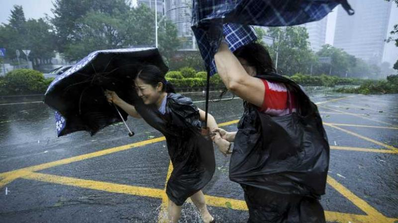 Typhoon Lekima has affected at least six and a half million people in the Chinese provinces of Zhejiang, Jiangsu, Anhui, Shandong and Fujian, since making landfall last week. (Photo: Representational Image/File)