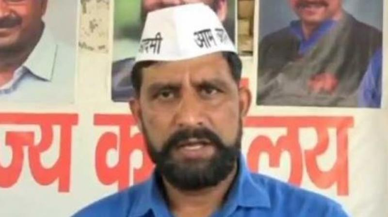Jaihind said, 'I offer to pay Rs. 20 lakh to BJP politicians if they allow 'kukarm' (rape) on themselves by 10 people.' (Photo: ANI   Twitter)