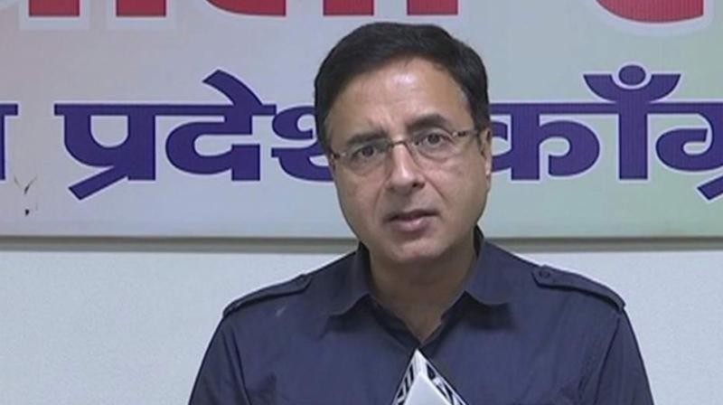 AICC spokesperson Randeep Surjewala (Photo: ANI)