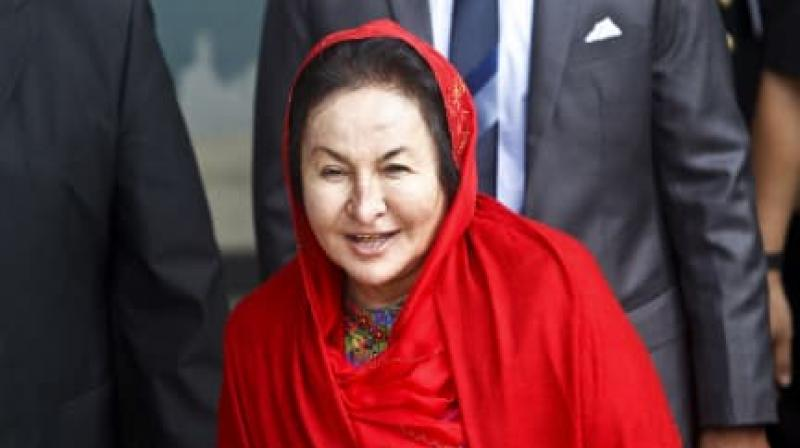 Malaysian authorities have barred Najib and Rosmah from leaving the country.  (Photo: AP)