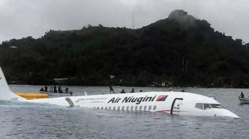 Air Niugini said Friday it had been informed that 'the weather was very poor with heavy rain and reduced visibility at the time of incident'. (Photo: AFP)