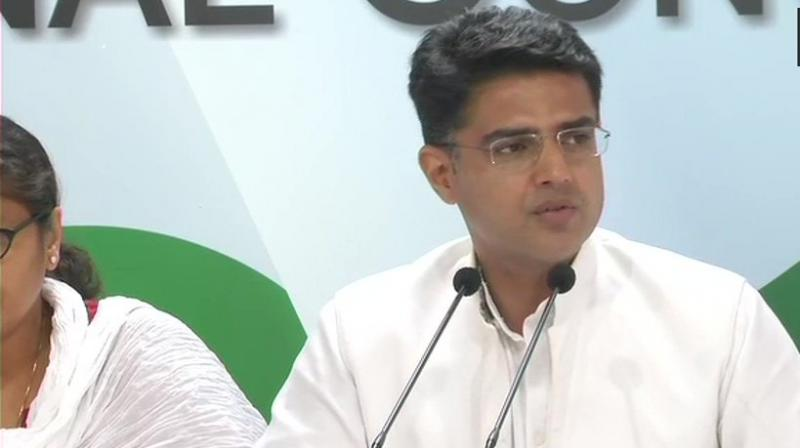 Rajasthan Deputy Chief Minister Sachin Pilot on Thursday called for accepting the reality of the economic condition and said that it was more important to give positive suggestions at the time of such a problem instead of merely criticising it. (Photo: File)