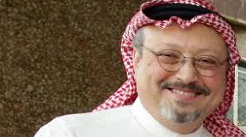 Khashoggi's Turkish fiancee Hatice Cengiz, who on October 2 stood and waited for him in vain outside the consulate where he had gone to pick up documents needed for their marriage, also addressed the UN session.(Photo: File)