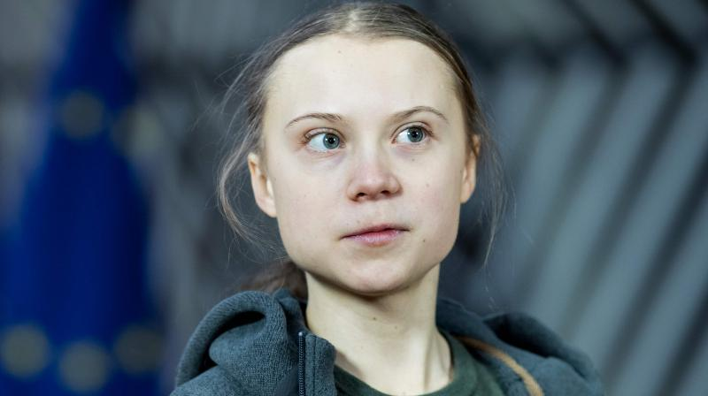 Swedish environmentalist Greta Thunberg. (AFP)