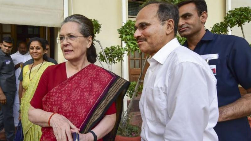 Sonia Gandhi was recently chosen as interim chief of Congress after a meeting of the party's Working Committee. (Photo: AP)