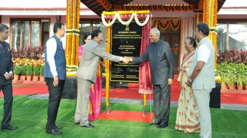 President Kovind inaugurates presidential guest house in Mumbai