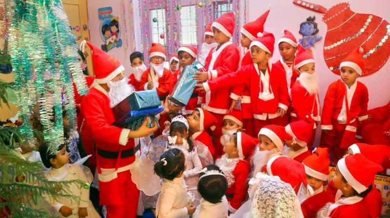 Christmas actually comes with several hidden health benefits. (Photos: PTI)