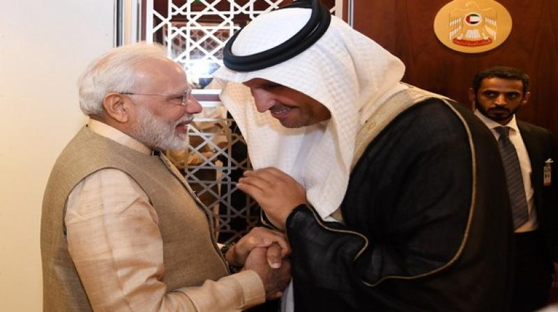India finds a partner in the UAE to achieve its ambitious dream of achieving a USD five trillion economy, Prime Minister Narendra Modi told the Emirates News Agency, WAM, in an exclusive interview. (Photo: ANI)