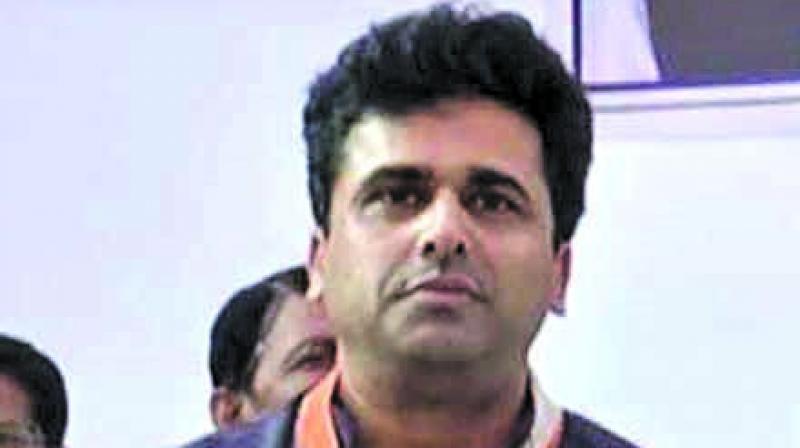 Faisal Patel, son of senior Congress leader Ahmed Patel