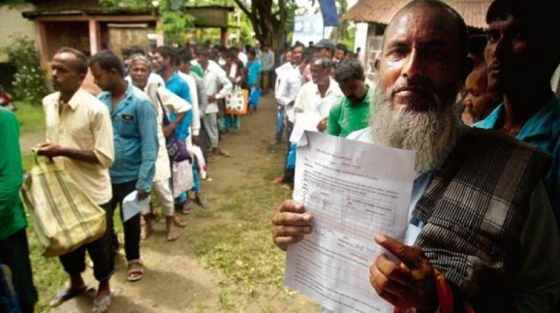 The first draft of the National Register of Citizens (NRC) which was published on July 30, 2018, updated for the first time since 1951, left out over 40 lakh people in Assam. (Photo: File)