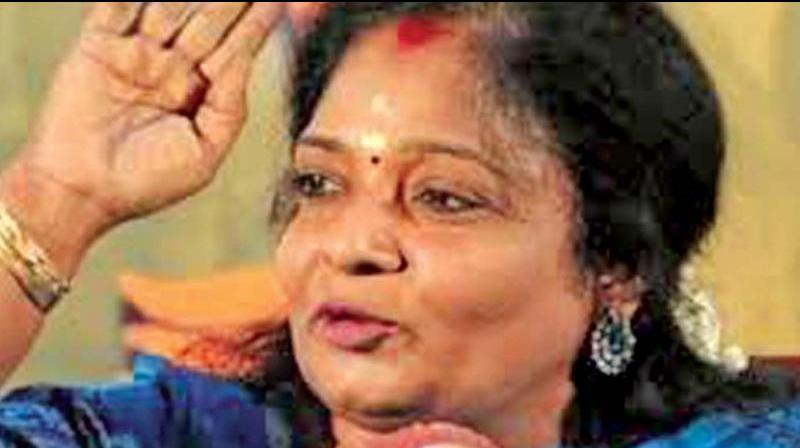 The Tamil Nadu BJP chief Dr Tamilisai Soundararajan and former Union minister Bandaru Dattatreya were included in the list of five new Governors announced by President Ram Nath Kovind on Sunday. (Photo: File)