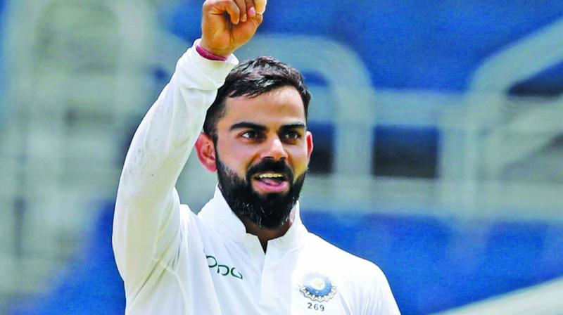 Kohli smashed 254 runs in the second Test match helping India to reach a massive total of 601 runs in the first innings. (Photo: File)