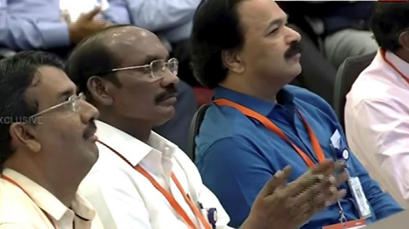 Enthusiasm soon turned into a sense of despair at ISRO's Mission Operations Complex as India's second lunar mission Chandrayaan-2's lander 'Vikram' lost communication with the ground stations on Saturday just ahead of the soft landing. (Photo: PTI)