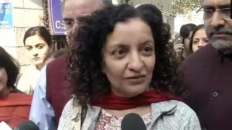 Journalist Priya Ramani on Saturday told a Delhi court that through her tweet, which former Union Minister MJ Akbar has termed