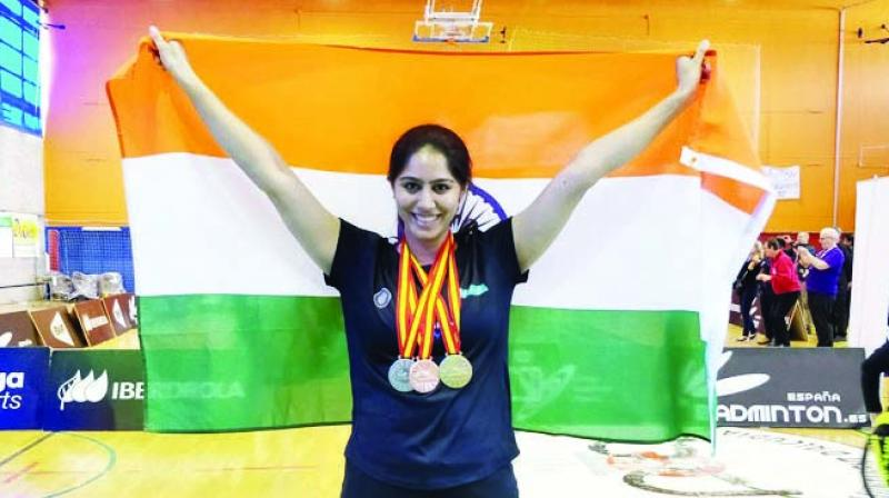 Manasi Joshi is the Para World Badminton champion.