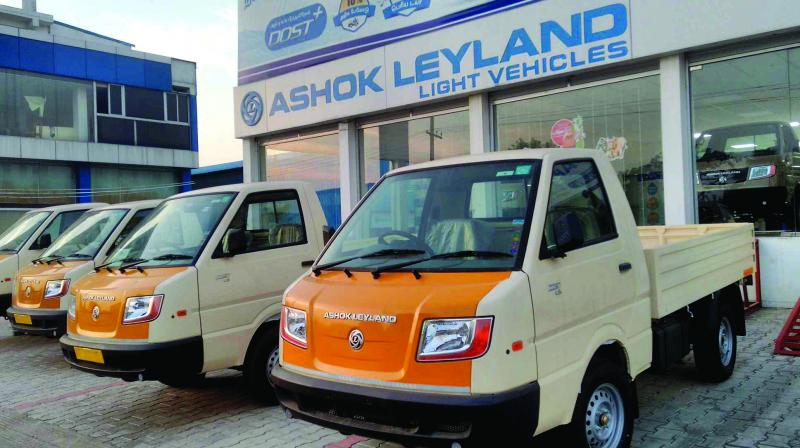 The company had sold 19,741 units in the same month last year, Ashok Leyland said in a regulatory filing.
