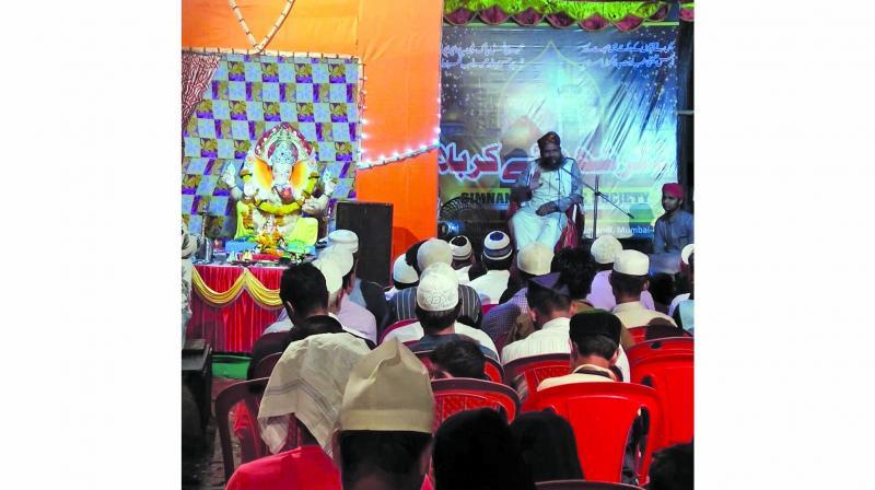 Pandal unites Hindus, Muslims in Govandi