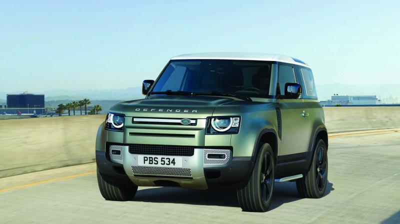 Tata Motors-owned Jaguar Land Rover, British luxury car maker, has debuted its all-new SUV Land Rover Defender at the 2019 Frankfurt motor show.
