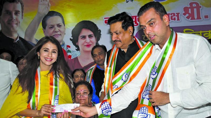 Urmila Matondkar had joined Congress in March 2019.