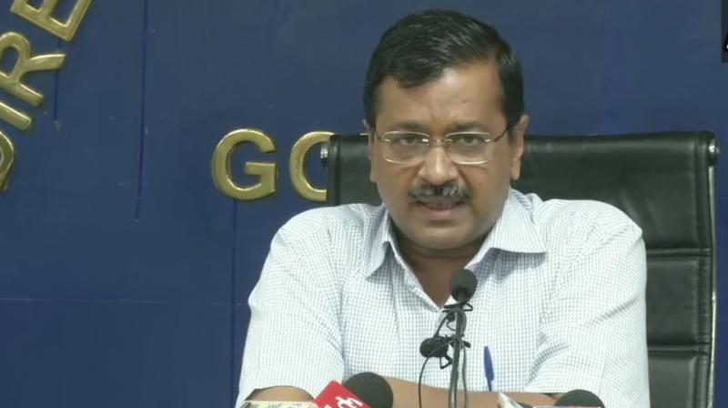 Delhi Chief Minister Arvind Kejriwal on Friday announced the reimplementation of the odd-even vehicle scheme in the state from November 4 to 15, 2019 in order to tackle pollution. (Photo: Twitter/ ANI)