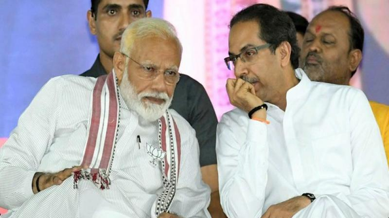 Shiv Sena on Saturday criticised the Centre on the economic situation, job loss and took a swipe at Union ministers Nirmala Sitharaman and Piyush Goyal for their comments on auto sales slump and the state of the economy. (Photo: ANI)