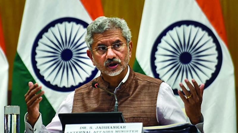 Jaishankar said that the situation in the region has now stabilised and lots of restrictions have been rolled back including the operationalising of landlines and some mobile towers and resumption of economic activity. (Photo: File)