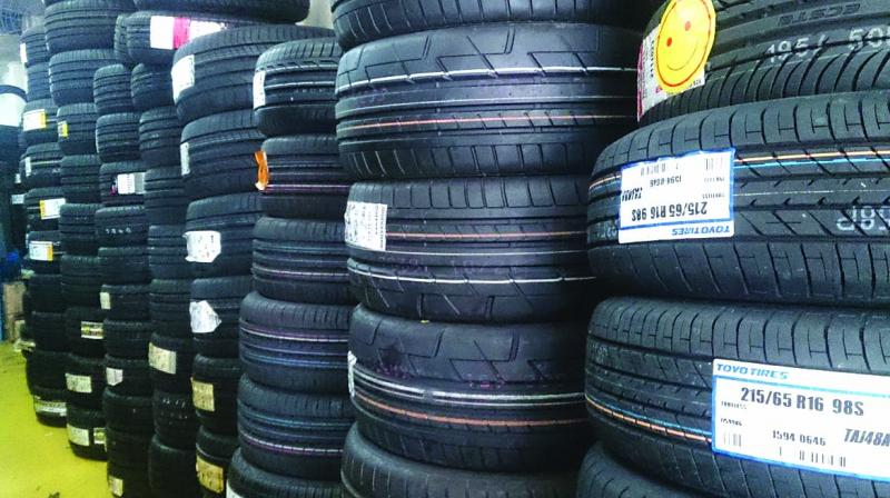 Tyre exports have picked up in June quarter as Indian manufacturers are trying to ultilise the trade war opportunity.
