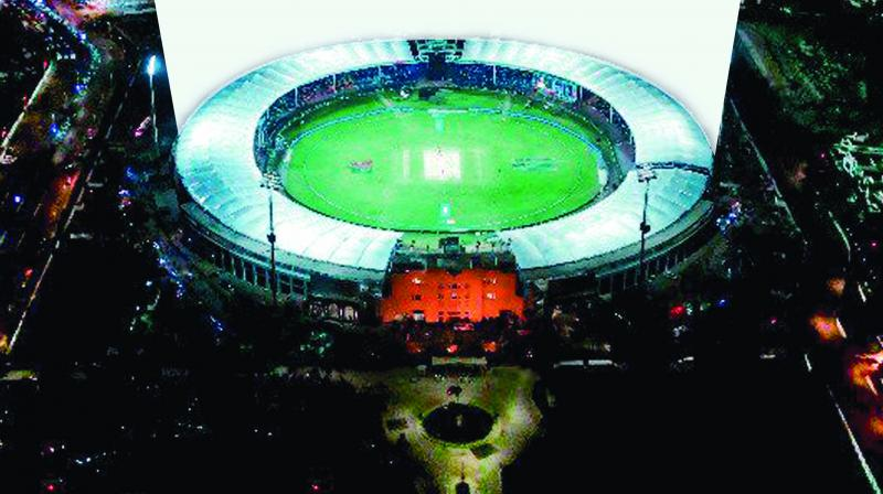 A view of the National Stadium in Karachi that will host the first three T20s between Pakistan and Sri Lanka.