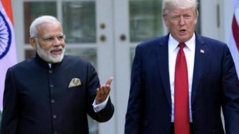 The United States and India are racing to negotiate a limited trade deal that US President Donald Trump and Prime Minister Narendra Modi can sign at the United Nations General Assembly in New York at the end of September, people familiar with the talks said. (Photo: File)