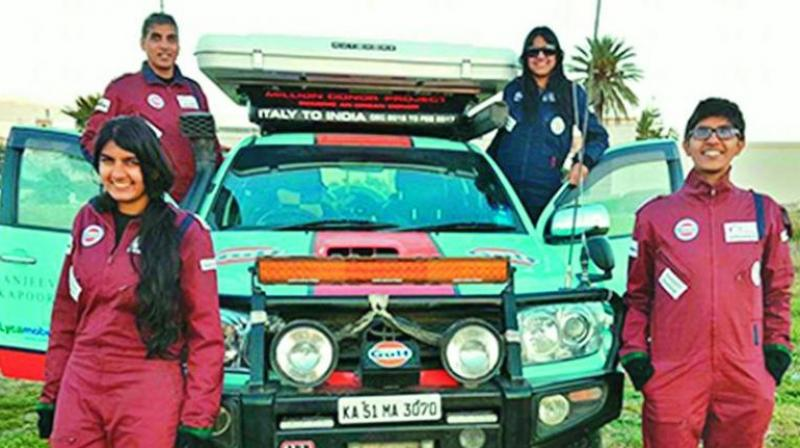 In 2016, Anil Srivatsa and his family ventured on an epic overland journey called the Gift of Life Adventure, from Bangalore to Scotland, covering 15 countries and 30,000 kilometres in 90 days, all for the purpose of creating awareness on organ donation.
