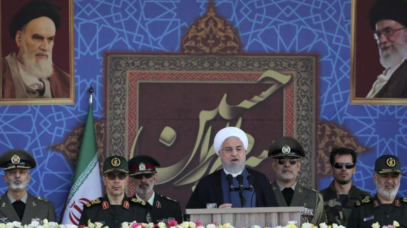 """Iran's President Hassan Rouhani said on Sunday that the presence of foreign forces creates """"insecurity"""" in the Gulf, after the US ordered the deployment of more troops to the region. (Photo: AP)"""