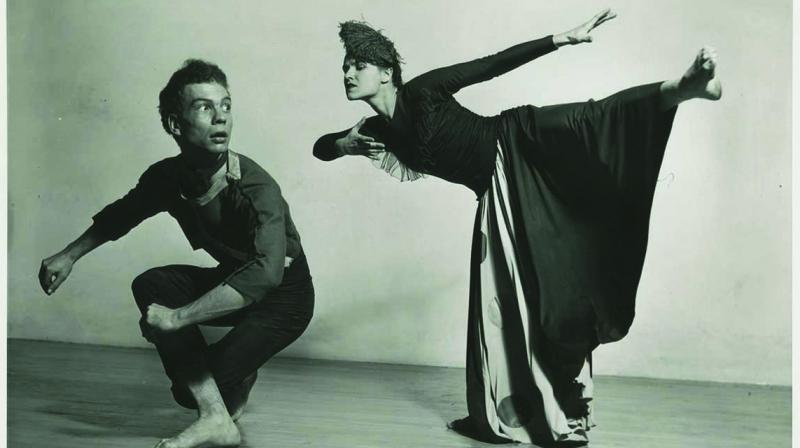 Jean Erdman is a magical, pioneering legend whose name I would guess doesn't ring a bell for many of you. Yet she touched, influenced and transformed 20th century consciousness of myth and culture in modern dance and theatre in lasting ways.