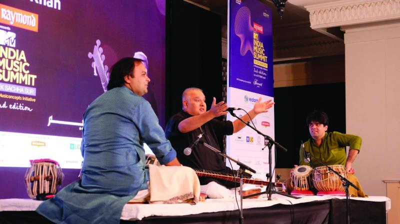 Now in its third edition, the India Music Summit will be held in Jaipur between October 4-6. As usual, the weekend promises to be packed with 40 music-related sessions, including concerts, interactions with artists, screening of films and impromptu jamming sessions. An eclectic blend of genres — from North Indian and Carnatic classical, to rap, quawalli, Bollywood, ghazals, folk — the summit has it all.