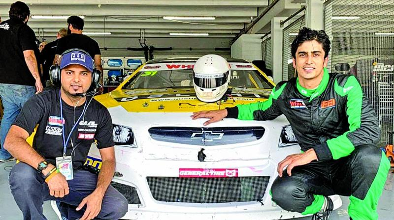 Despite missing fifth round and not fairing well in the sixth round, the Mumbai born car racer remains in contention for a championship podium finish in the 2019 Euro NASCAR.