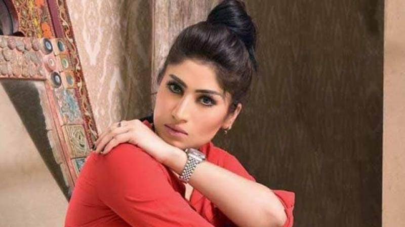 Pakistani social media star Qandeel Baloch. (Photo: Instagram)