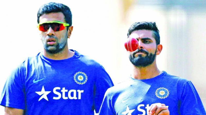 R Ashwin and Ravindra Jadeja