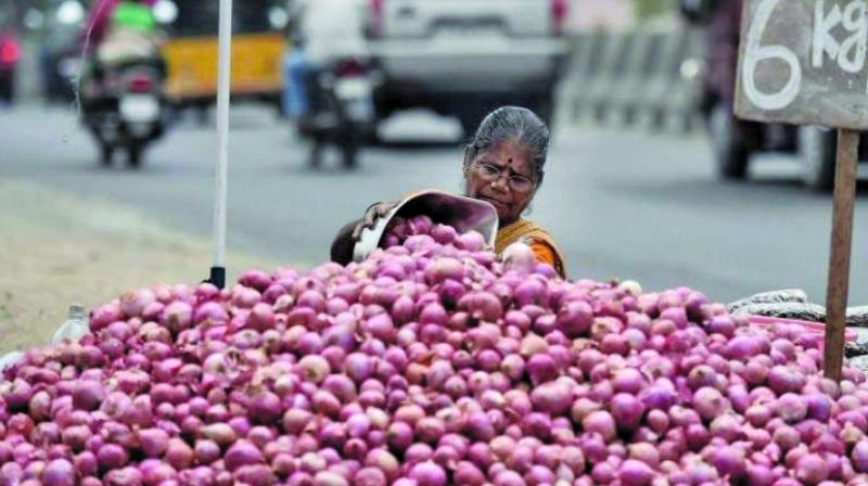 The government has also attempted to bring down prices by releasing more onions from federal buffer stocks, prices have remained fairly high.