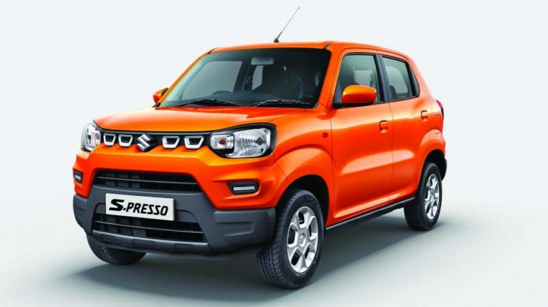 The SUV-shaped S-Presso featured amongst India's top 10 bestselling cars within a month of its launch.