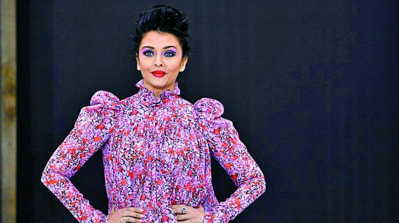 Aishwarya Rai's frilly dress at the Paris Fashion Week was severely criticised.