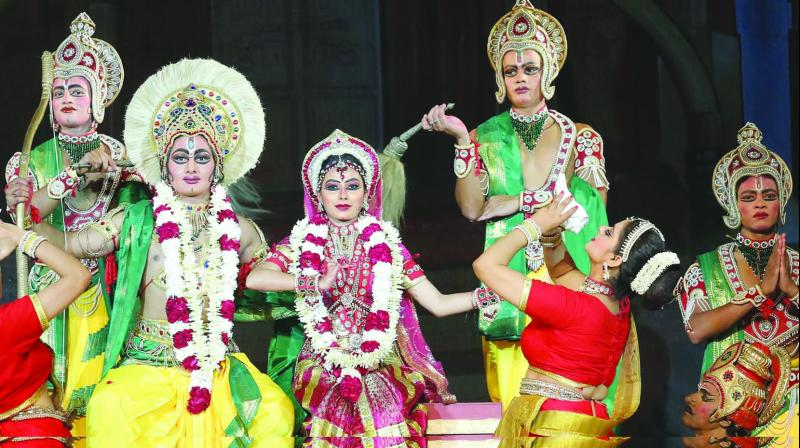 This is the 63rd consecutive edition of the Ramlila