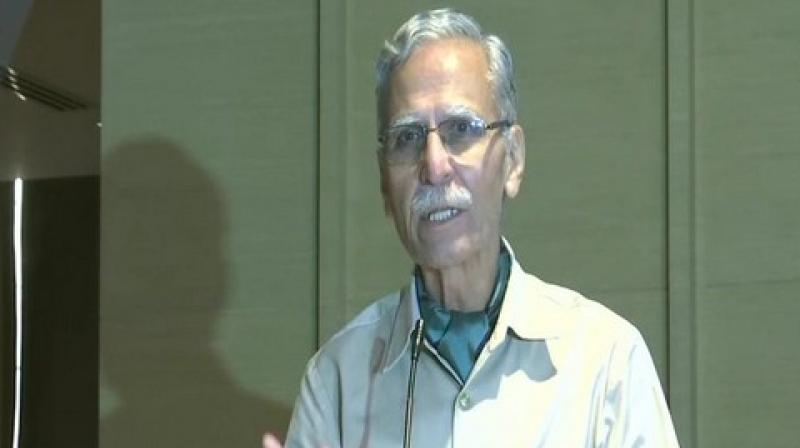 Former Aligarh Muslim University (AMU) Vice-Chancellor Lt General (retired) Zameer Uddin Shah has said that Muslims should hand over the disputed land at Ayodhya to Hindus for the sake of lasting peace in the country. (Photo: ANI)