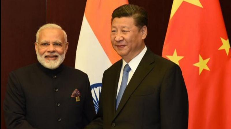 Indian prime minister Narendra Modi and Chinese president Xi Jinping. (ANI file photo)